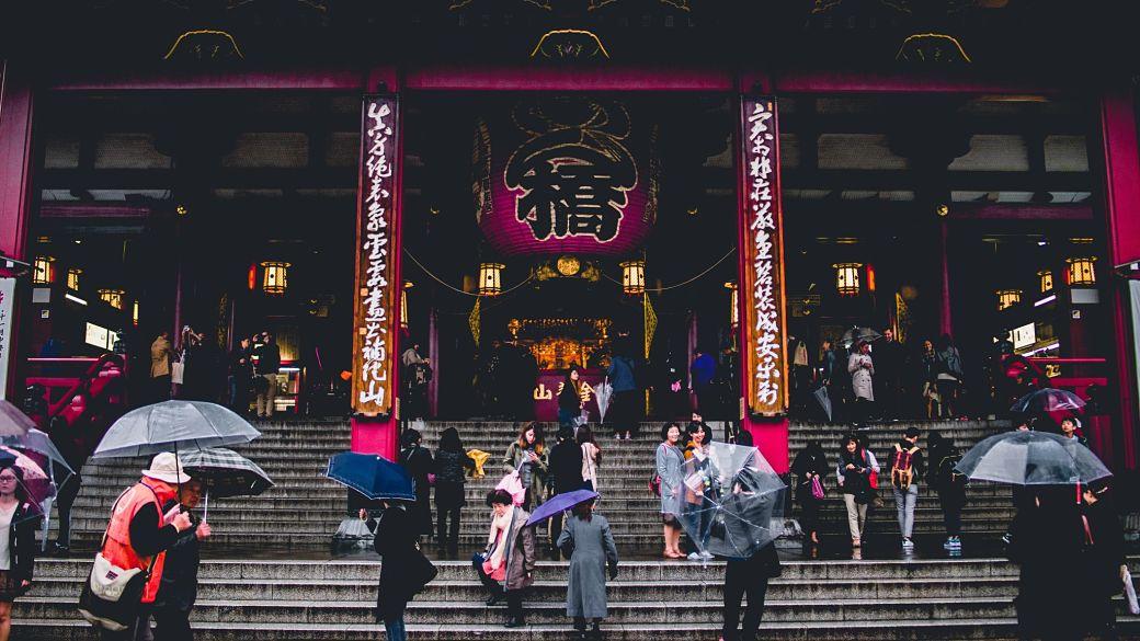 Templo Sensôji en Asakusa, Tokio