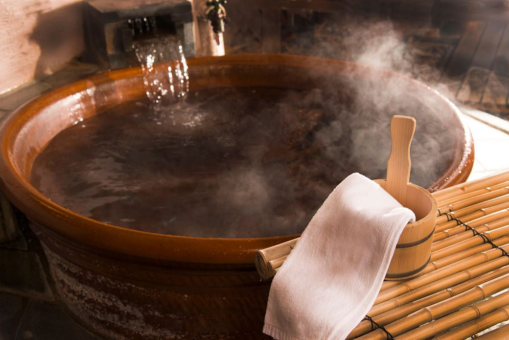 Ofuro o baño tradicional en Japón