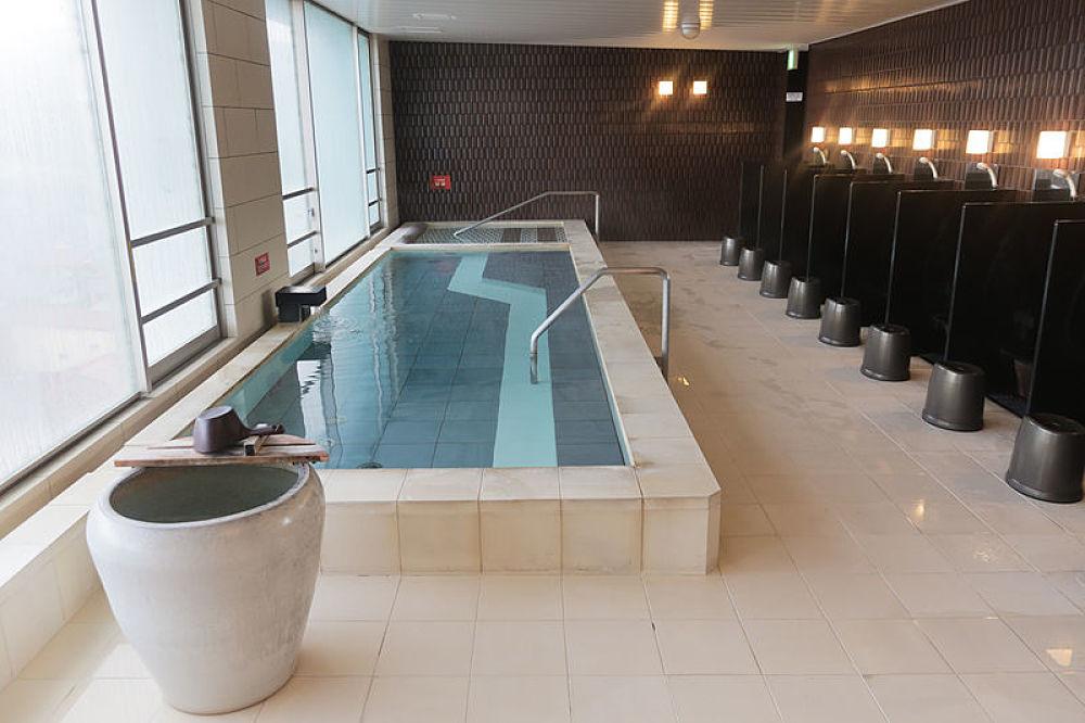 Baños públicos en Japón o sentô