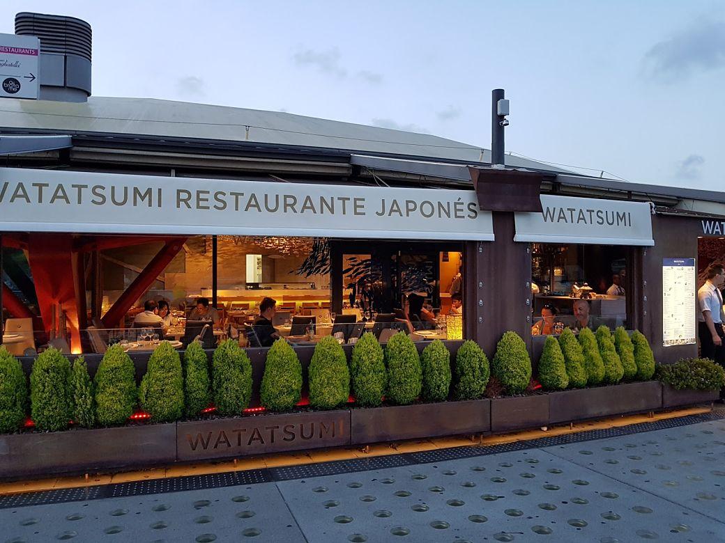 Restaurante japonés Watatsumi en Barcelona