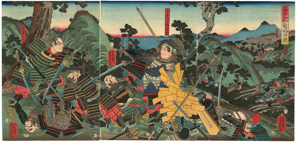 Batalla de Nageshima contra la secta Ikko-Ikki