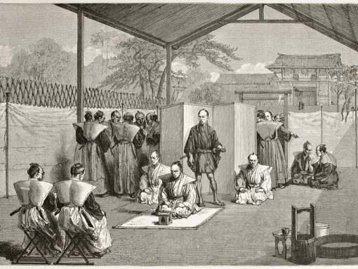 Ritual del suicidio samurái o seppuku