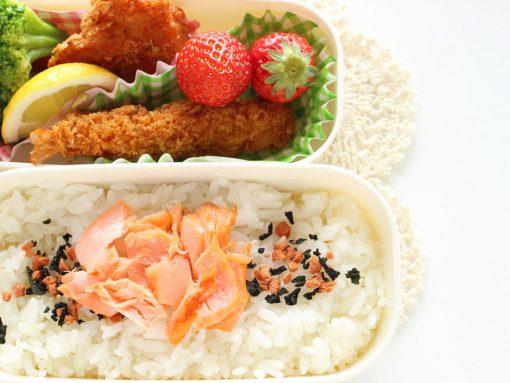 Foto fiambrera bentô japonés