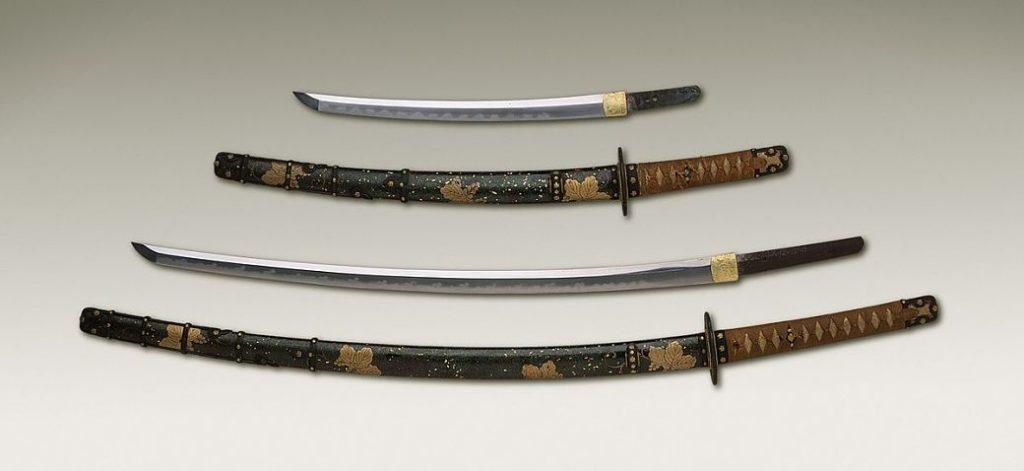 Imagen de réplicas de katanas, arma samurái por excelencia