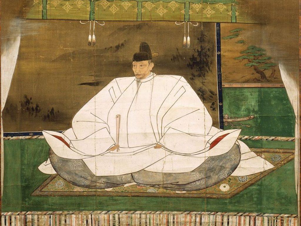 Retrato de Hideyoshi Toyotomi, shogun del Japón feudal