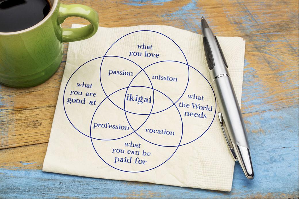 Concepto de ikigai