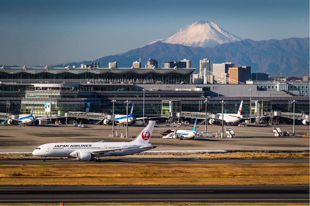 Aeropuerto de Japón en Tokio