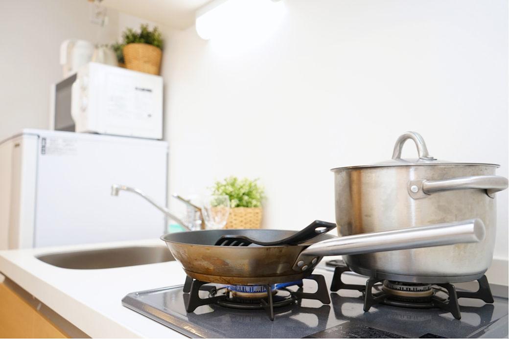 Cuisine étudiante en résidence au Japon