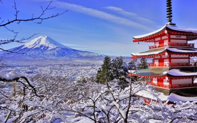Las cuatro estaciones y el tiempo en Japón