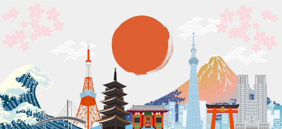 Principales símbolos de Japón