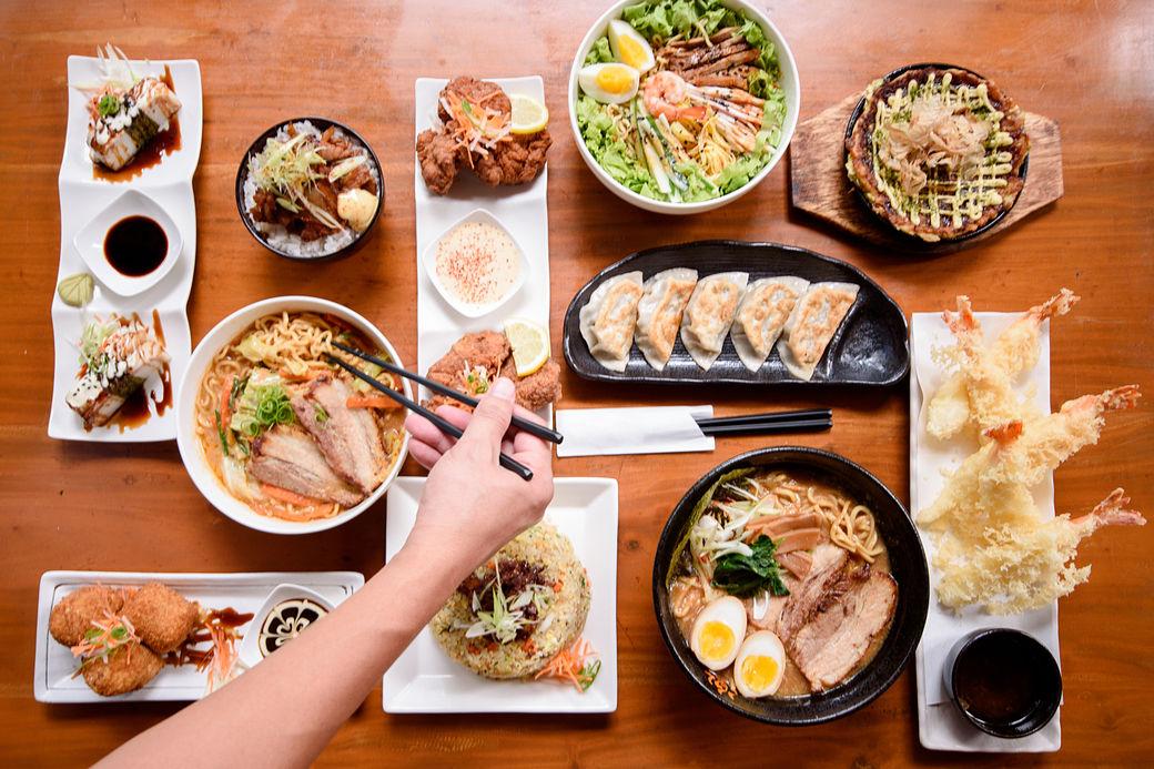 Platos típicos de la gastronomía japonesa