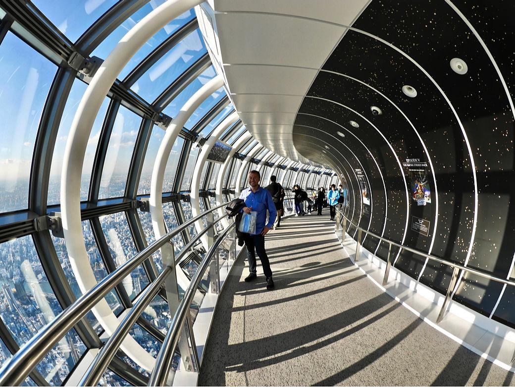 Mirador de la torre Skytree de Tokio